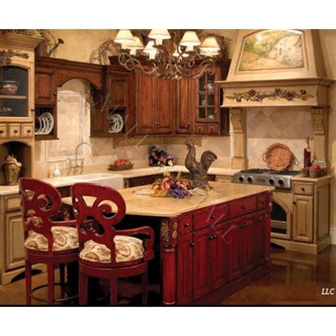 tuscan style kitchen islands european marble top carved wood end tables furniture 6409