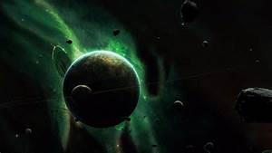 Green Planet Space 4K Wallpaper   Free 4K Wallpaper