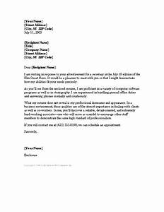 letter about secretary cover letter for office assistant With cover letter for secretary position at school