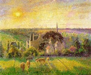 Eragny Art De Vivre : the church and farm of eragny 1895 camille pissarro ~ Dailycaller-alerts.com Idées de Décoration