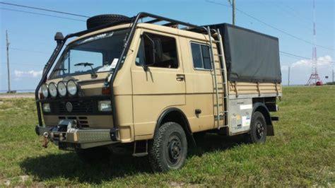 vw diesel eintauschprämie 1989 vw lt45 turbo diesel 4x4 4wd doka bulli syncro vanagon automoventurehicle