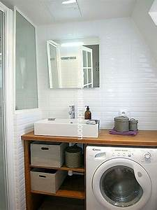 Salle De Bain Etroite : pingl par latifa zirf sur salle de bain laundry room bathroom laundry bathroom combo et ~ Melissatoandfro.com Idées de Décoration