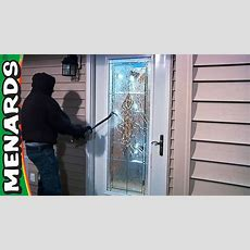 Security Exterior Doors  What's New  Menards  Youtube