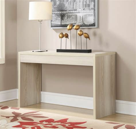 contemporary console table sofa wood hallway accent entryway living room decor ebay