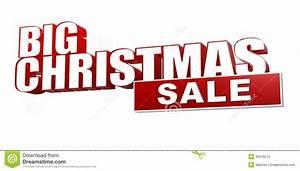 big christmas sale in 3d red letters and block royalty With giant 3d letters for sale