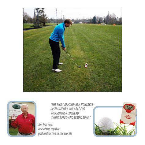 golf swing speed swing speed radar