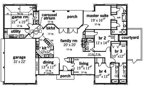 arnolds cove luxury home plan   house plans