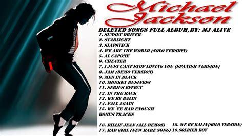 Michael Jackson  Deleted Songs Full Album + Download Mj