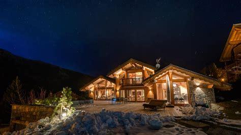 luxury ski chalets  rent consensio