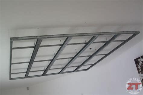 faire un faux plafond en placo brico cr 233 ation d un faux plafond avec ruban led et spots