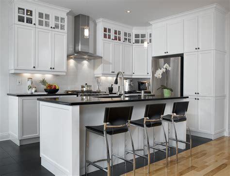 cuisine blanc bois blanc un retour cuisine bois quartz