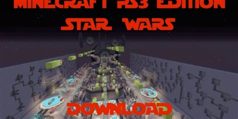 minecraft ps star wars ship map