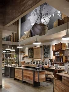 Industrial Style Shop : industrial themed coffee shop design ~ Frokenaadalensverden.com Haus und Dekorationen