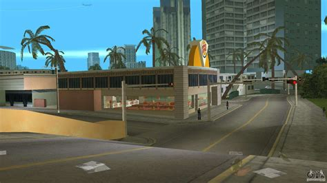 burgerking mod  gta vice city