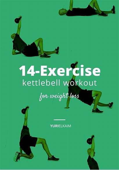 Kettlebell Workout Printable Exercises Beginners Routine Beginner