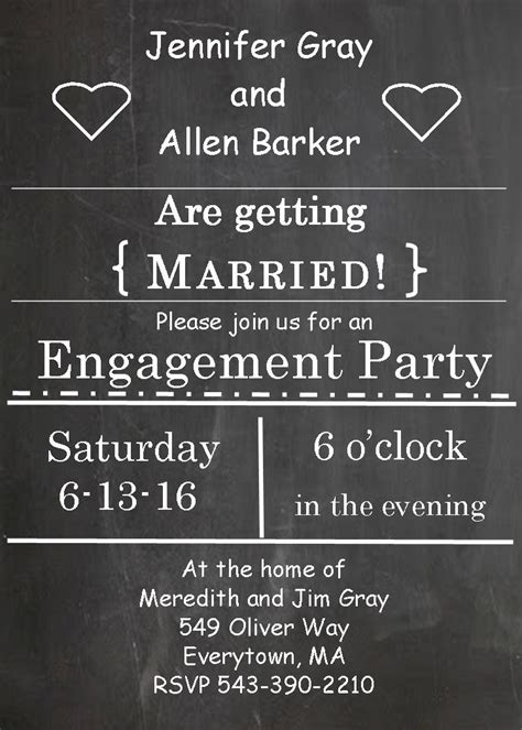engagement party invitations  selections summer