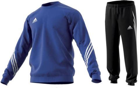 bolcom adidas sereno  trainingspak heren blauw