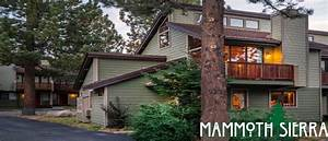 Mammoth Sierra Townhomes  Mammoth Lodge Reservations 866