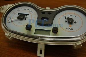 Gy6 150cc Scooter Moped Speedometer Light Gas Gauge Jonway