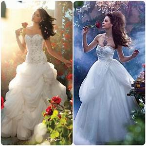 belle disney princesse princess mariage wedding robe With robes de princesses