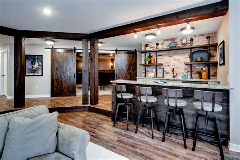 Interior Design Ideas Home Bar by 16 Rustic Home Bar Designs That Will Customize