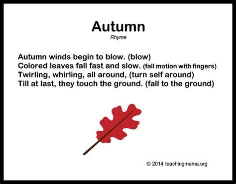 10 autumn songs for preschoolers 366   Autumn Songs for Preschoolers