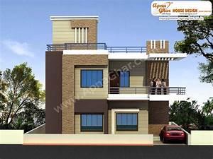 Beautiful Duplex House Design In Square Feet Bill Plans