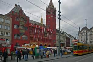 Marktplatz Basel Switzerland