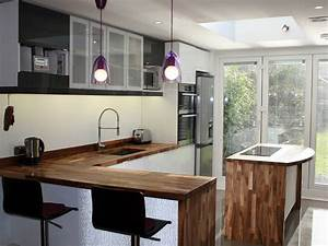 Creating a Kitchen Breakfast Bar Using Solid Wood