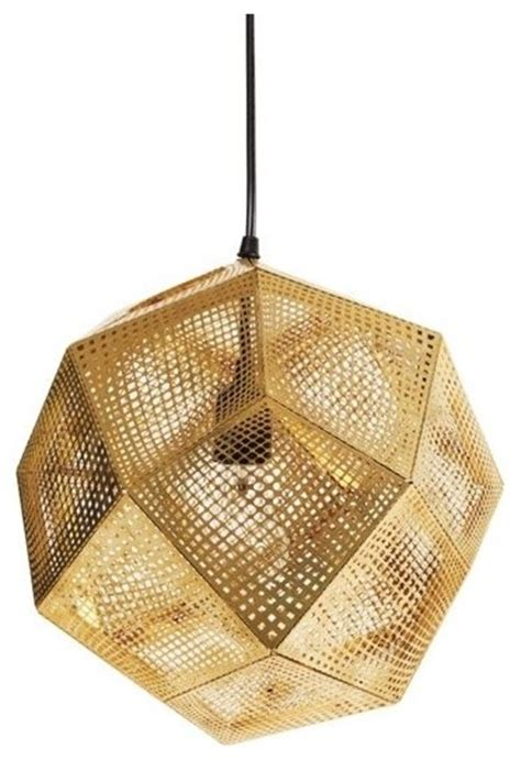 design within reach lighting etch pendant brass contemporary pendant lighting by