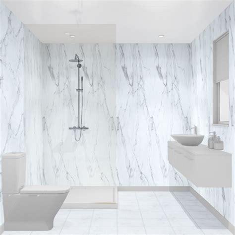 multipanel linda barker calacatta marble unlipped bathroom