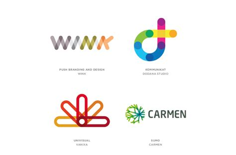 link logos styles graphic design trends pinderful