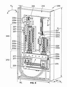 Patent Us8305739  Lighting Panelboard