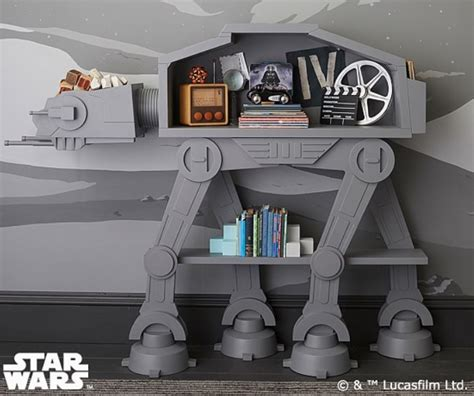 wars desk toys wars at at bookcase retrenders
