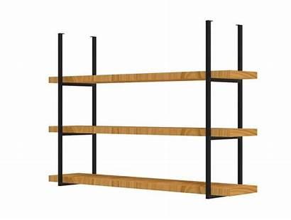 Ceiling Shelf Hanging Shelving Mount Metal Shelves