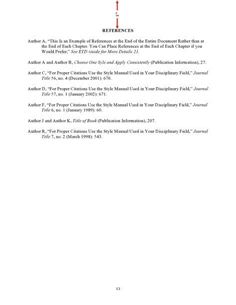 formatting guidelines thesis  dissertation guide unc chapel hill graduate school