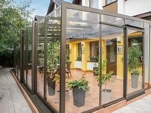 galerie terrassenuberdachung corso glass alukov schweiz With schiebbare terrassenüberdachung