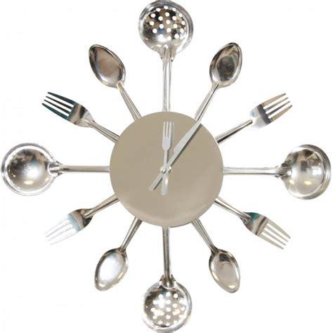 horloge cuisine affordable horloge murale cuisine argent with horloge
