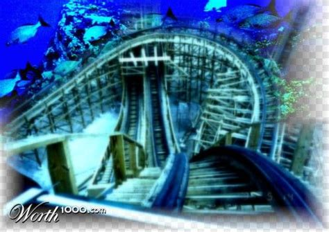Roller+coaster+underwater+tunnel Sounds Thrilling