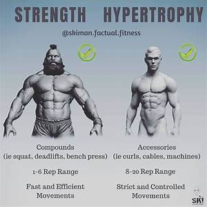 Strength Vs Hypertrophy Your Choice