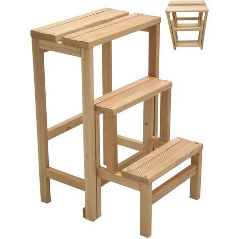 sgabello richiudibile sgabello sedia scala scaletta richiudibile in legno da