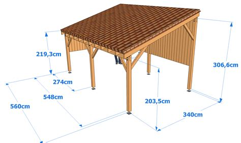 how to build a carport construire un carport bois