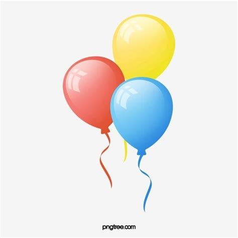 vector birthday balloons vector birthday celebrate png