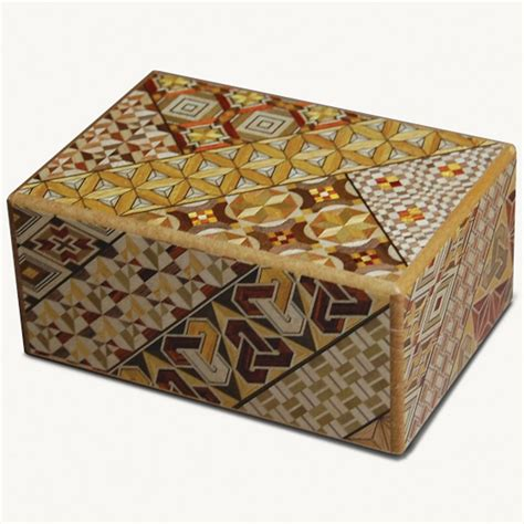 This box is a trick box which has a relationship with these daily things. Himitsu-Bako Japanese Puzzle Box - The Green Head