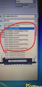 How To Use Vvdi Prog To Read Mercedes W203 Ezs