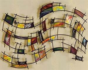 Wanddeko Metall Abstrakt : 33 verbl ffende ideen f r wanddeko aus metall ~ Whattoseeinmadrid.com Haus und Dekorationen