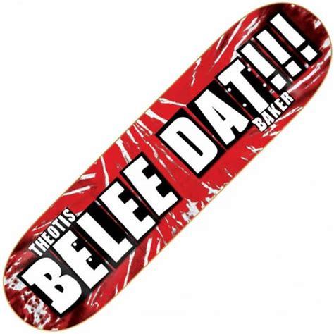 Baker Skateboard Decks 80 by Baker Skateboards Baker Theotis Belee Dat Skateboard Deck