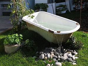 Badewanne Freistehend Für Garten : mit pfiff in den sommer top 5 der ausgefallenen gartenm bel sparblog ~ Markanthonyermac.com Haus und Dekorationen