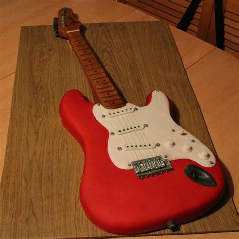 life sized electric guitar cake cakecentralcom