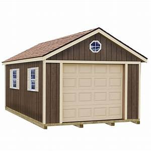 best barns sierra 12 ft x 20 ft wood garage kit with With 22x22 garage kit